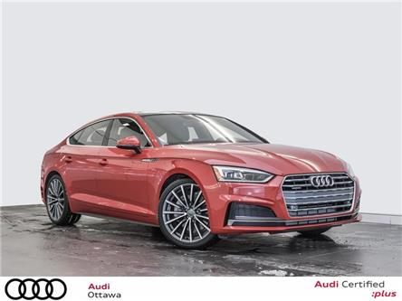2018 Audi A5 2.0T Progressiv (Stk: 52251) in Ottawa - Image 1 of 22