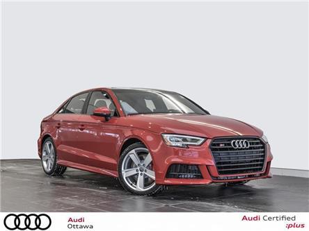 2018 Audi S3 2.0T Progressiv (Stk: 51937) in Ottawa - Image 1 of 22