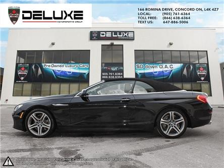 2012 BMW 650i  (Stk: D0537) in Concord - Image 2 of 14