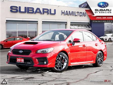 2018 Subaru WRX Sport-tech (Stk: S7193A) in Hamilton - Image 1 of 28