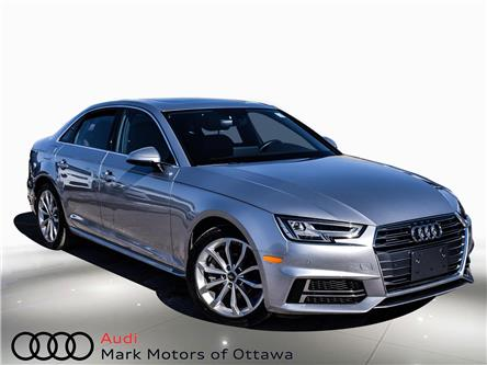 2018 Audi A4 2.0T Progressiv (Stk: 91082) in Nepean - Image 1 of 25