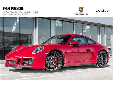 2019 Porsche 911 Carrera 4 GTS Coupe (Stk: P13523) in Vaughan - Image 1 of 21