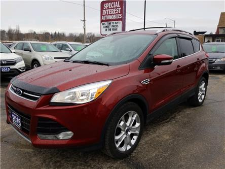 2016 Ford Escape Titanium (Stk: C14899) in Cambridge - Image 1 of 15
