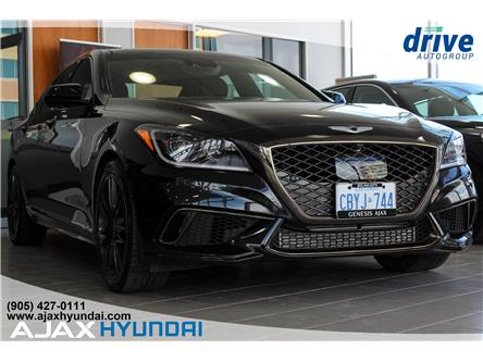 2019 Genesis G80 3.3T Sport (Stk: G19014) in Ajax - Image 1 of 25