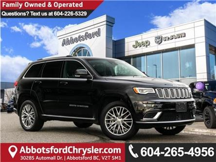 2018 Jeep Grand Cherokee Summit (Stk: AG0912A) in Abbotsford - Image 1 of 25