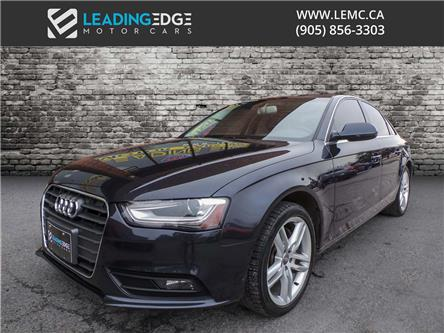 2013 Audi A4 2.0T Premium Plus (Stk: 10617) in Woodbridge - Image 1 of 19