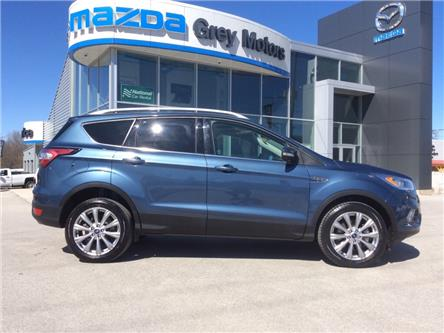 2018 Ford Escape Titanium (Stk: 03331P) in Owen Sound - Image 1 of 22