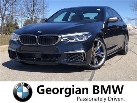 2019 BMW M550i xDrive (Stk: B19095) in Barrie - Image 1 of 21