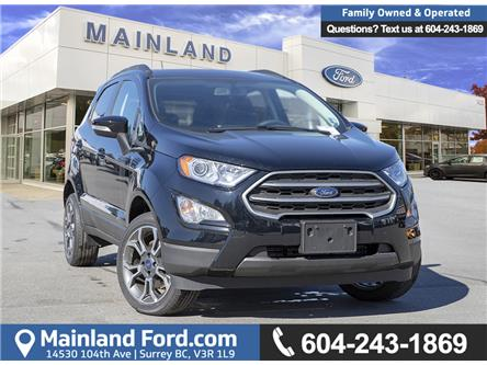 2018 Ford EcoSport SE (Stk: 8EC9495) in Vancouver - Image 1 of 27