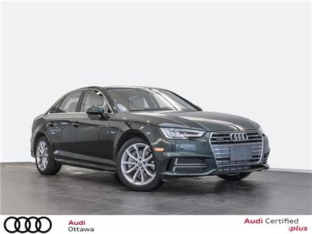 2018 Audi A4 2.0T Progressiv (Stk: 52116) in Ottawa - Image 1 of 19