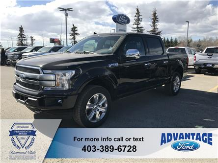 2019 Ford F-150 Platinum (Stk: K-1136) in Calgary - Image 1 of 5