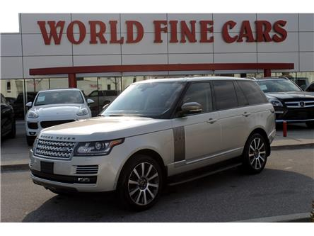 2013 Land Rover Range Rover Supercharged Plus Autobiography Pkg (Stk: 16729) in Toronto - Image 1 of 28