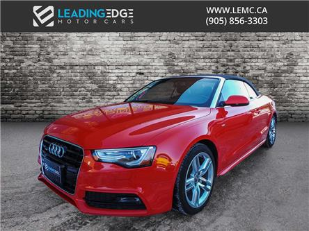 2015 Audi A5 2.0T Technik (Stk: 10479) in Woodbridge - Image 1 of 22