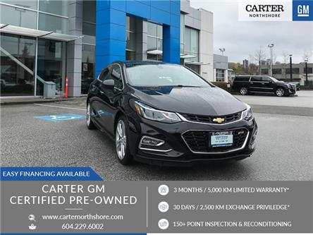 2018 Chevrolet Cruze Premier Auto (Stk: 972150) in North Vancouver - Image 1 of 28