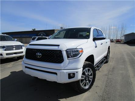 2019 Toyota Tundra Platinum 5.7L V8 (Stk: 199083) in Moose Jaw - Image 1 of 26