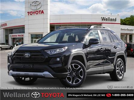 2019 Toyota RAV4 Trail (Stk: RAV6443) in Welland - Image 1 of 24