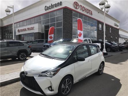 2019 Toyota Yaris SE (Stk: 190245) in Cochrane - Image 1 of 14