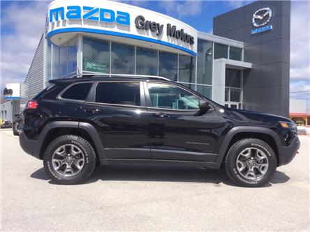 2019 Jeep Cherokee 27L Trailhawk Elite (Stk: 03337P) in Owen Sound - Image 1 of 23