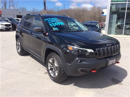 2019 Jeep Cherokee Trailhawk (Stk: 03337P) in Owen Sound - Image 2 of 23