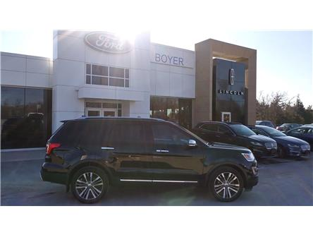2017 Ford Explorer Platinum (Stk: L1234A) in Bobcaygeon - Image 1 of 22