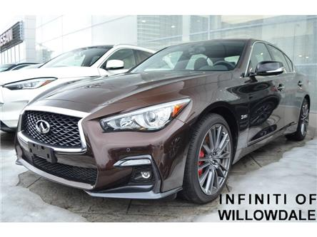 2018 Infiniti Q50 3.0t Red Sport 400 (Stk: H7705) in Thornhill - Image 1 of 7
