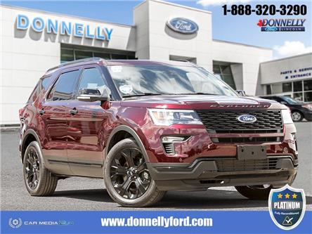 2019 Ford Explorer Sport (Stk: PLDU6112) in Ottawa - Image 1 of 28