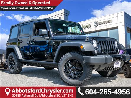 2018 Jeep Wrangler JK Unlimited Sport (Stk: AB0851) in Abbotsford - Image 1 of 21