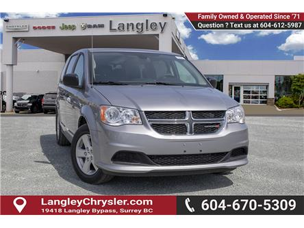 2019 Dodge Grand Caravan CVP/SXT (Stk: K612800) in Surrey - Image 1 of 21