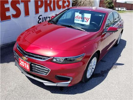 2018 Chevrolet Malibu LT (Stk: 19-313) in Oshawa - Image 1 of 14