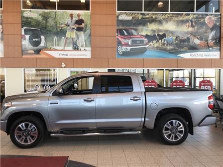 2019 Toyota Tundra Platinum 5.7L V8 (Stk: 190098) in Cochrane - Image 2 of 12