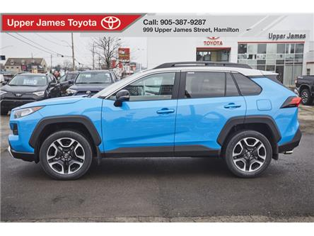 2019 Toyota RAV4 Trail (Stk: 190561) in Hamilton - Image 2 of 19