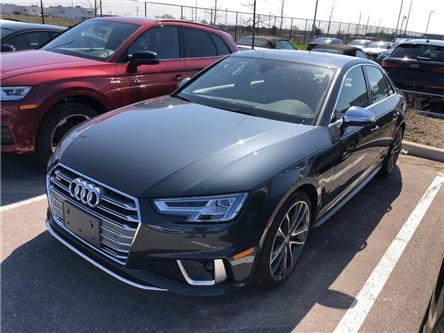 2019 Audi S4 3.0T Technik (Stk: 50645) in Oakville - Image 1 of 5