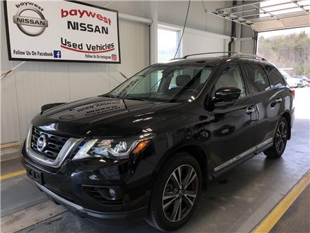 2019 Nissan Pathfinder Platinum (Stk: P100) in Owen Sound - Image 1 of 11