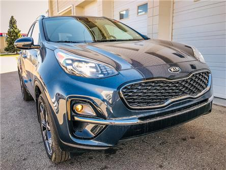 2020 Kia Sportage EX Tech (Stk: 21645) in Edmonton - Image 1 of 11