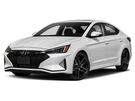 2019 Hyundai Elantra Sport (Stk: 19666) in Ajax - Image 1 of 9