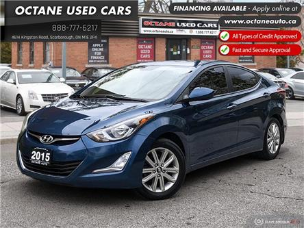 2015 Hyundai Elantra Sport Appearance (Stk: ) in Scarborough - Image 1 of 27