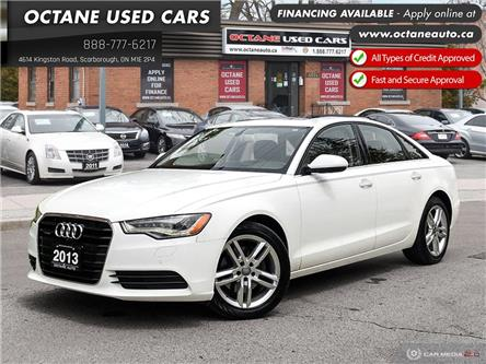 2013 Audi A6 2.0T Premium (Stk: ) in Scarborough - Image 1 of 26