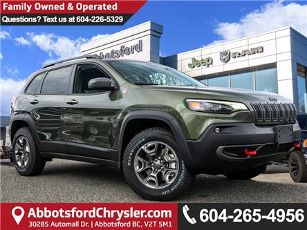 2019 Jeep Cherokee Trailhawk (Stk: K440878) in Abbotsford - Image 1 of 25