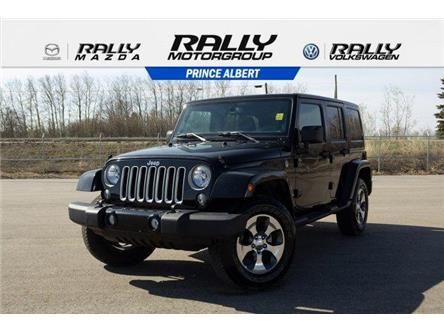 2018 Jeep Wrangler JK Unlimited Sahara (Stk: V804) in Prince Albert - Image 1 of 11