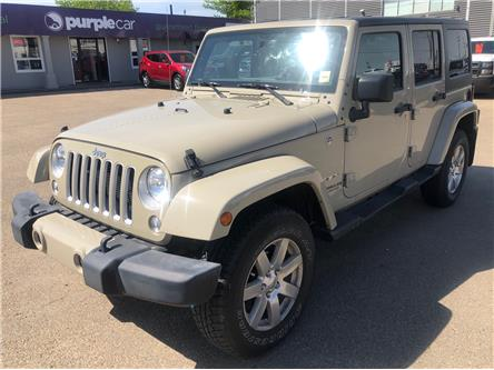 2017 Jeep Wrangler Unlimited Sahara (Stk: E4426) in Edmonton - Image 2 of 11