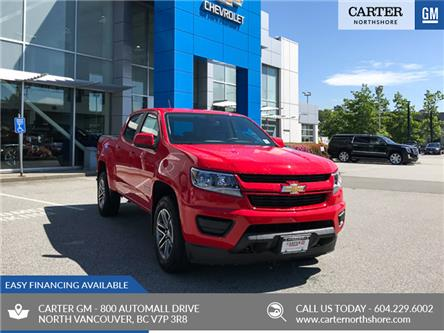 2019 Chevrolet Colorado WT (Stk: 9CL49740) in North Vancouver - Image 1 of 13