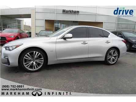 2018 Infiniti Q50 3.0t Signature Edition (Stk: K409A) in Markham - Image 2 of 25