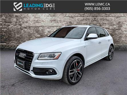 2017 Audi SQ5 3.0T Dynamic Edition (Stk: 12909) in Woodbridge - Image 1 of 21