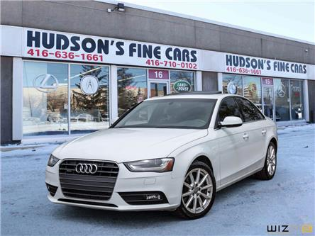 2014 Audi A4 2.0 Progressiv (Stk: 34222) in Toronto - Image 1 of 30