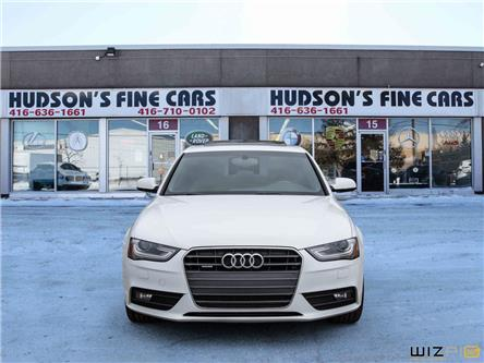 2014 Audi A4 2.0 Progressiv (Stk: 34222) in Toronto - Image 2 of 30