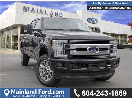 2019 Ford F-350 Limited (Stk: 9F38537) in Vancouver - Image 1 of 28