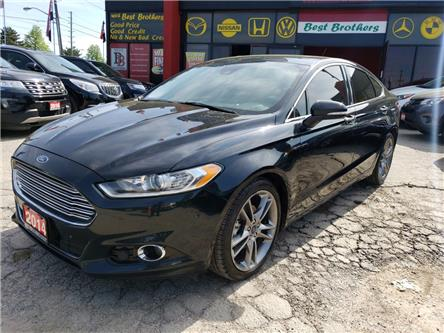 2014 Ford Fusion Titanium (Stk: 124744) in Toronto - Image 1 of 17