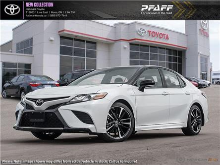 2019 Toyota Camry 4-Door Sedan XSE 8A (Stk: H19497) in Orangeville - Image 1 of 24