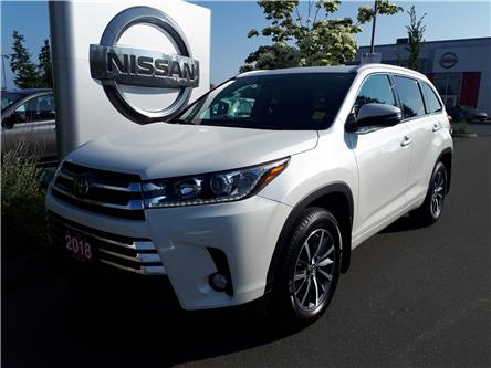 2018 Toyota Highlander XLE (Stk: 9R9275A) in Courtenay - Image 1 of 9