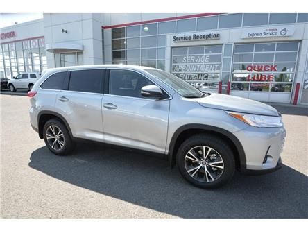 2019 Toyota Highlander LE AWD Convenience Package (Stk: HIK127) in Lloydminster - Image 1 of 15